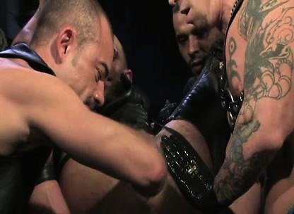 Gay men getting hand jobs